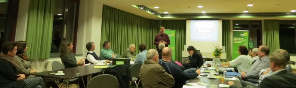 Programmdiskussion mit Peter Hettlich im Bürgerhaus Eilenburg