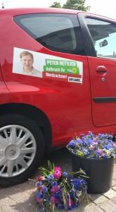 Peter Hettlich Auto Kornblumen